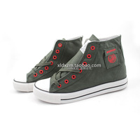 Warrior emancipatory shoe military wind high wxy-126r lovers canvas shoes