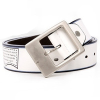Free shipping jeans leather belt & archaize belt +&MAN BELT 100% BRAND NEW for men 2PCS/LOT