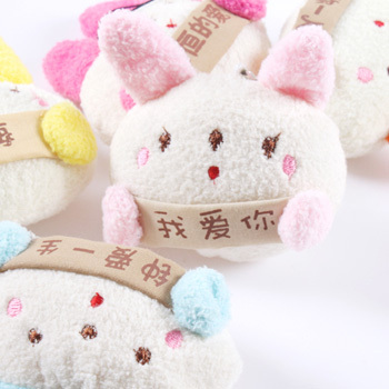 Rabbit cell phone accessories lovers mobile phone hangings mobile phone chain 10g(China (Mainland))