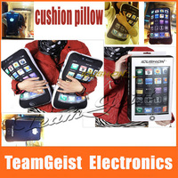 2013 Novelty Gift Pillow Cushion for iPhone 4 ipad print APP Nap bedding pillow for iphone lovers Fans with Original Gift Box