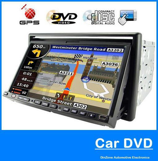 7 Inch 2-DIN Touch Screen Manual - English Vehicle USB Extension Cable DVD Player Support GPS Navigation(China (Mainland))