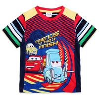 NEW arrival!!!  Free shipping high quality children summer printed cars short sleeve t shirt, MOQ: 4pcs