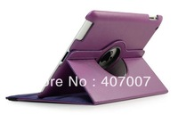 Rotate 360 Drees Rtating Cover For IPAD MINI Leather stand cover holder 3pcs/set 1 case+1 pen+ 1 Protector