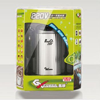 200w power inverter car power converter negative ion oxygen bar car air purifier