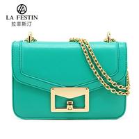 Freeshipping Simple Designed bag one shouder handbag cowhide bag chain bag shoulder bag handbag women's messenger bag