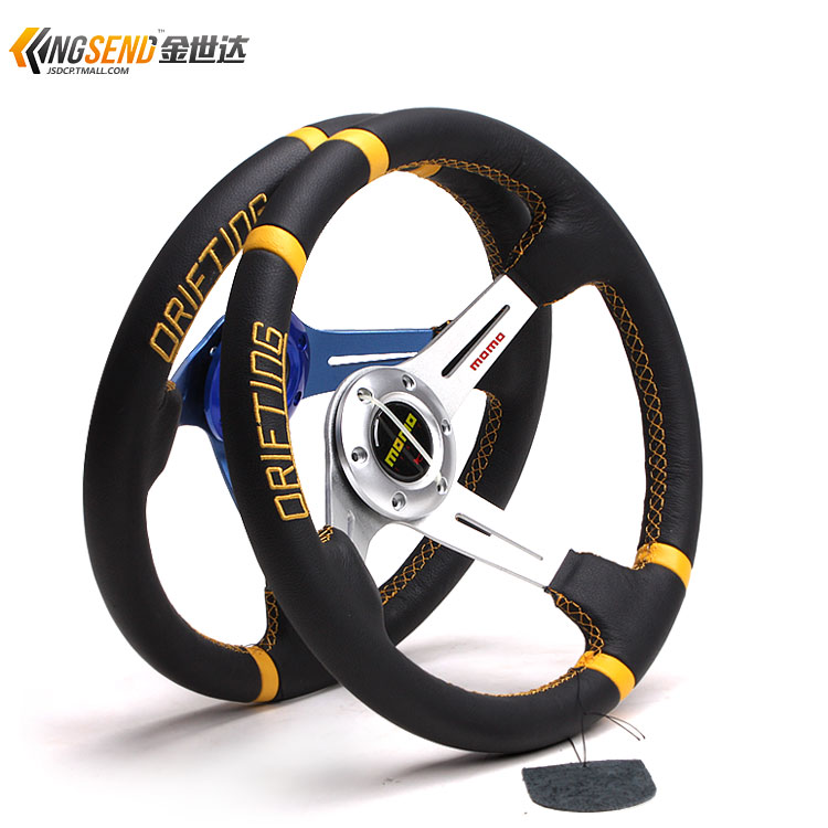 Modified car steering wheel automobile race modified steering wheel 14 momo steering wheel 5138zp(China (Mainland))
