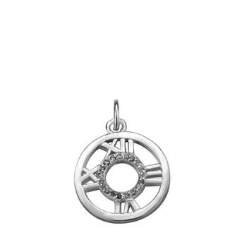 Free shipping,925 silver jewelry Pendants,Stone circles in Rome pendant,fashion jewelry Pendants .wholesale price! D127(China (Mainland))