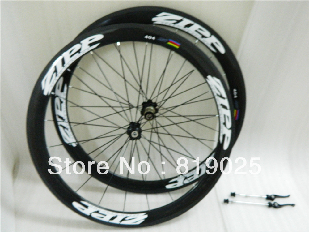 Special Offer ~ Zipp 404 Carbon Road Bike Wheels, 2012 50mm Rim Clincher|Tubular Wheelset, free shipping(China (Mainland))