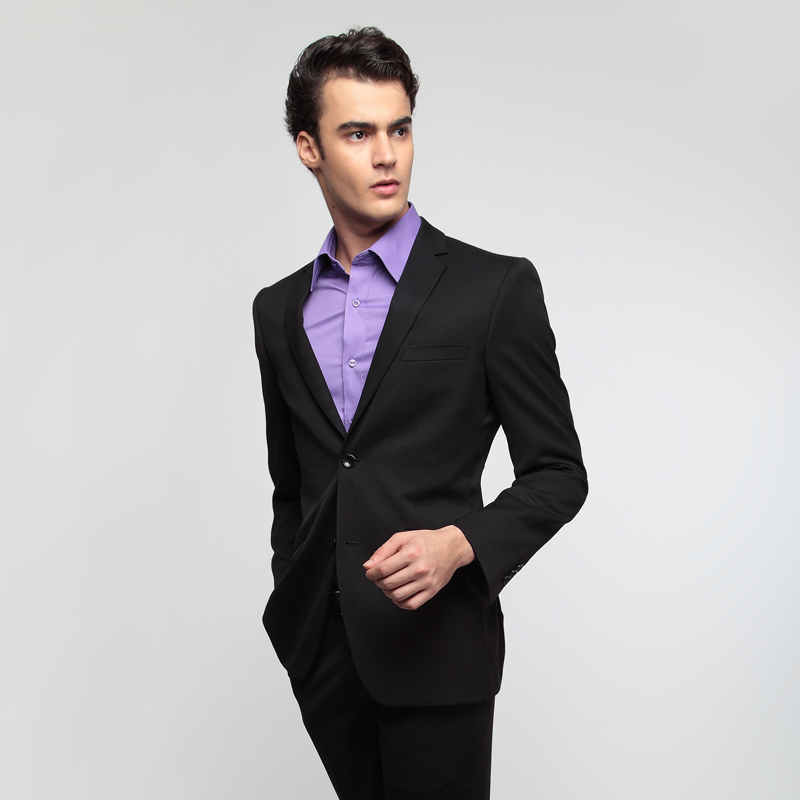 Male formal suits spring set 2000g suit formal dress married work wear blazer(China (Mainland))