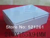 plastic waterproof box plastic enclosure seal box 210x155x94