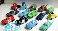 14pic/lot NEW arrivel  Freeshipping Pixar Car Figures Full Set 14 kinds PVC  High Quality for Gift best gift for children  fun