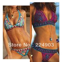 Hot 2013 Fashion Brand Ladies Swimsuit Swimwear Sexy Bikini For Women Bathing --Free Shipping