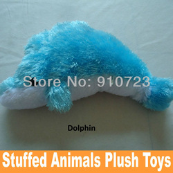 Wholesale Cheap Plush Toys Blue Dolphins Hobbies Dolls Stuffed Toys Stuffed Animals Stuffed Animals Stock Drop Free Shipping(China (Mainland))