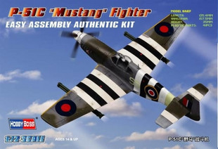 Hobby Boss 80243 1/72 P-51C Mustang plastic model kit
