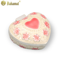Bahamut Luxury Aristocratic Vintage Love Heart Jewelry Box Necklace Ring Box - Free Shipping Wholesale
