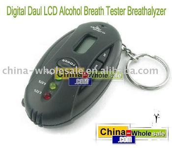 LCD Digital Alcohol Breath Analyzer Tester Breathalyzer  [716|01|01]
