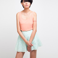 skirt womens 2013 lace crochet gauze basic short linen A skirt mini half-length skirt the son puff skirtS20010