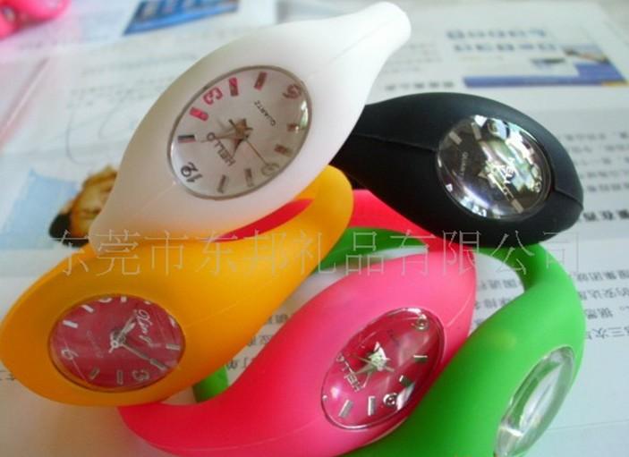 Best price hot sale waterproof quartz ion silicone watch+Negative ion sport watch +min order 100pcs(China (Mainland))