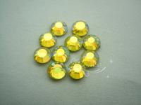 1440 DMC Hotfix Rhinestones  heat transfer Rhinestones for dress  color ab SS20 (lemon yellow  ab)