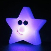 Free Shipping 3pcs/lot Colorful small night light small bedside light child light sleep