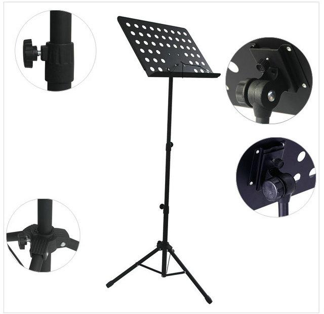 Musical instrument music stand violin guitar erhu music stand musical instrument spectral sets retractable folding(China (Mainland))