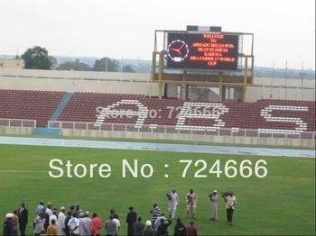 ASRAM shenzhen led 1r1g1b p10 DIP SMD indoor full color football stadium led display screen outdoor football led display screen