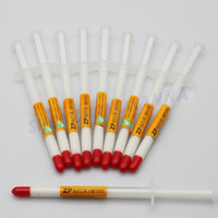 Syringe White Silicone Thermal Grease Heatsink Compound Paste CPU GPU VGA 30pcs/lot FREE SHIPPING #DN035