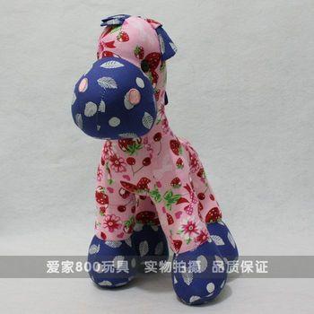 Chinese style cloth toys horse zodiac horse toy doll cloth doll horse dolls birthday gift