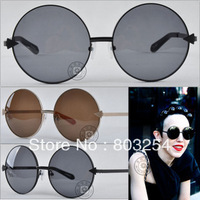 FREE SHIPPING WHOLESALE AND RETAIL WOMEN METAL ROUND SUNGLASSES BRAND : KAREN WALK VON TRAP  ORIGINAL   SIZE 58-18-138MM