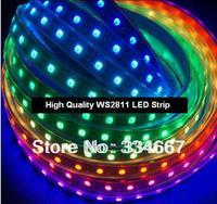 WS2811 led strip 144LEDs/M Digital LED Built-in IC IP65 IP67 Waterproof 5050 SMD RGB WS2811 Digital LED Strip Light