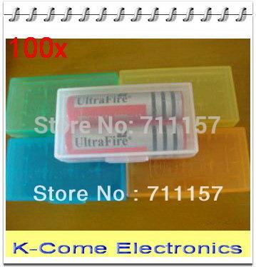 Аккумулятор K-C 18650 CR123A 16340 18650x4