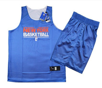 Absorbent, Breathable Mesh New Material Reversible Basketball Jersey New York Training Service 10229(China (Mainland))