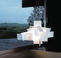 D65cm/95cm Modern Foscarini Big Bang Stacking Creative Modern Chandelier Lighting Art Pandant Lamp Ceiling E27 LED Bulbs 90-260V