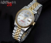 Luxury waterproof Automatic watch Simple Fashions wrist watch mens steel quartz business watch M#1