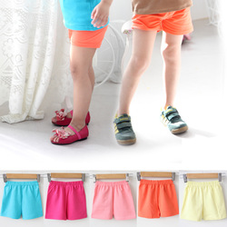 2013 summer children's clothing shorts child 100% cotton shorts safety pants capris baby beach pants capris(China (Mainland))