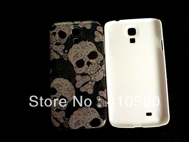 wholesale 10pcs/lot Skull Head Hard Case Cover For Samsung Galaxy S4 I9500,(China (Mainland))