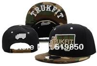 New arrival TRUKFIT Truk Snapback black Camo cap hats hippop  summer cap freeshipping