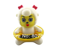 Free shipping Cute Animal Bath Tub Baby Infant Thermometer Water Temperature Tester Toy 5 shape to pick