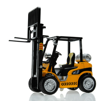 Alloy car model forklift crane plain WARRIOR friction car toy