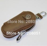 Volkswagen Tiguan Polo Golf MK4 MK6 Golf 6 Golf 7 leather key chain bag key case key wallet