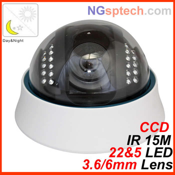 free shipping day and night dual use IR security camera,1/3 sony CCD camera