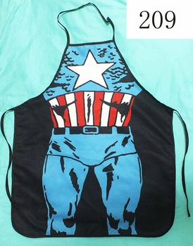 New COOKING APRON Novelty Funny SEXY women men DINNER PARTY The Avengers Captain America cosplay girl gift  sold on  batch