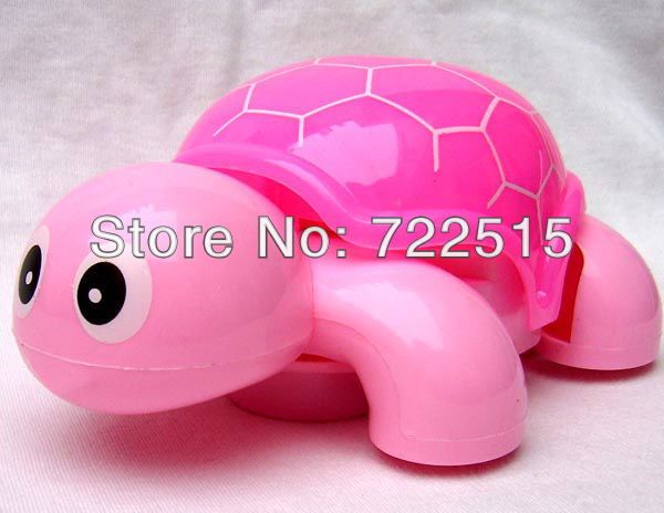 2013 New Mini Flashing Kids / Children Toys Light Music Tortoise Lovely Turtle . Free Shipping ! 5Pcs / Lot(China (Mainland))