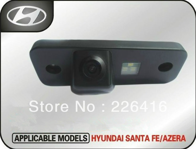 Dedicated car Spader CCD HD Hyundai Santa / Azera rearview camera(China (Mainland))