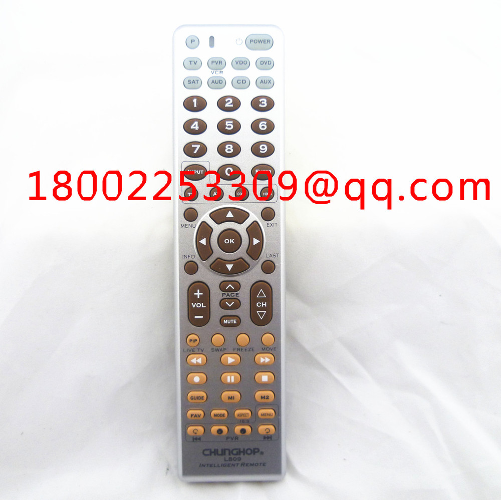 Combinational Remote Controller CHUNGHOP U908 TV/SAT/DVD/CBL/CD/AC/VCR universal remote control(China (Mainland))