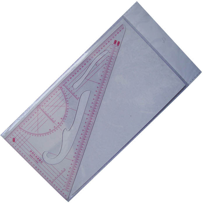 Clothes sample - - multi-purpose proportion triangle ruler traceably clothes chiban(China (Mainland))