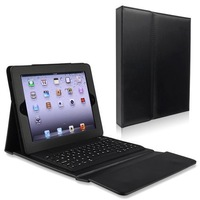 "Free Shipping Bluetooth Keyboard Leather Case Stand Cover for iPad 2 3 4 9.7"" Tablet PC"
