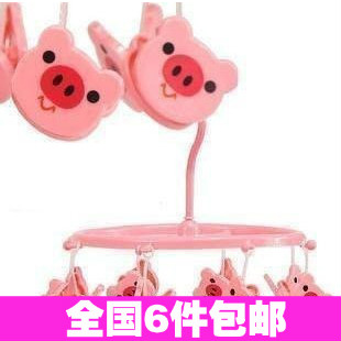 2224 cartoon animal circle 8 clamours small clothes japanese style racks(China (Mainland))