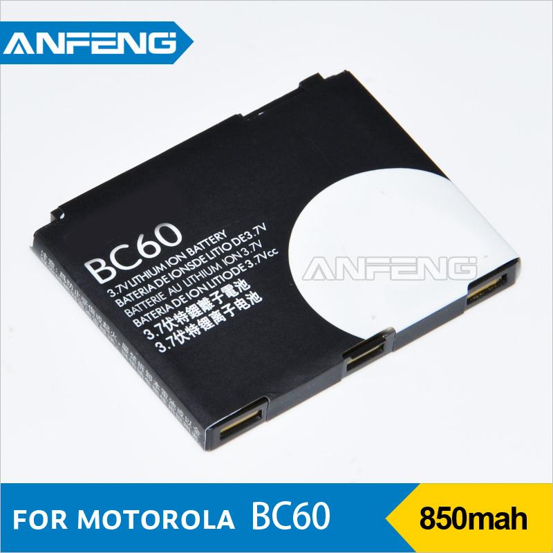 Best 850mah BC60 battery For motorola L7 Q275 C261 E2 E8 L71 L72 A1600 EM30 V3X EX115 (Free shipment )(China (Mainland))