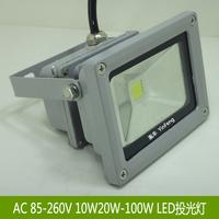 10w20w30w50w100wled projectine lamp outdoor waterproof lighting sign lights door caplights flodlit